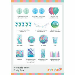 Mermaid Tales Party Box