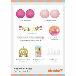 Magical Princess Party Decoration Box