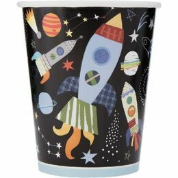 Outer Space Paper Cups (Pack of 8)