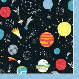 Outer Space Paper Napkins