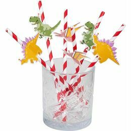Dinosaur Party Paper Straws (Pack of 6)