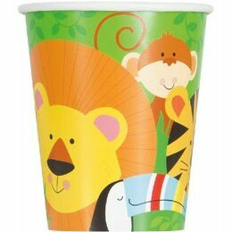 Animal Jungle Paper Cups (Pack of 8)