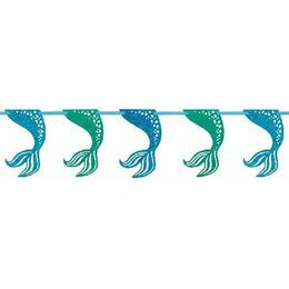 Mermaid Tales Glitter Garland 9ft
