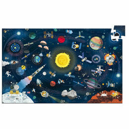 Djeco 200 Piece Observation Puzzle - Space