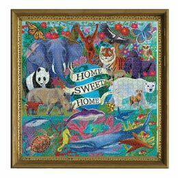 eeBoo Planet Earth 1000 Piece Puzzle