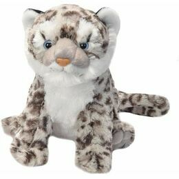 Snow Leopard Cub Cuddlekins Soft Toy (30cm)