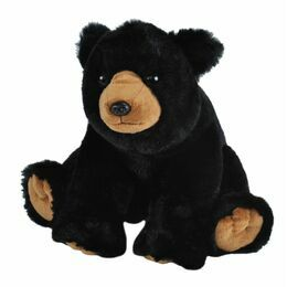 Black Bear Cuddlekins Soft Toy (30cm)
