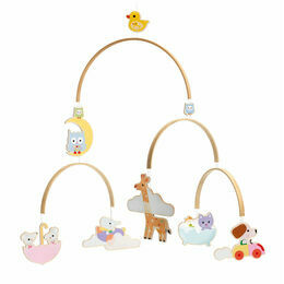 Djeco Wooden Mobile - Baby Animals