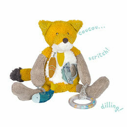 Moulin Roty Le Voyage d\'Olga Chaussette the Fox Activity Toy