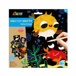 Avenir Scratch Junior Art Set - My Sea Friends