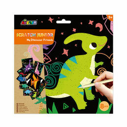 Avenir Scratch Junior Art Set - My Dinosaur Friends