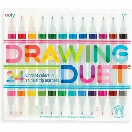 Drawing Duet Double Ended Markers (Set of 12)