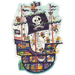 Djeco 36 Piece Giant Puzzle - Pirate Ship