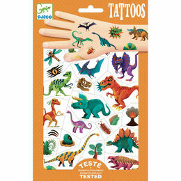 Djeco Temporary Tattoos - Dino Club