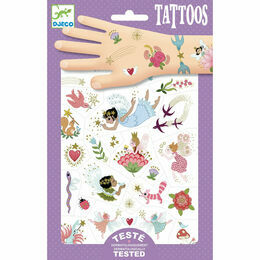 Djeco Temporary Tattoos - Fairy Friends