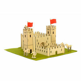 Apples to Pears Wooden Castle In a Tin Play Set