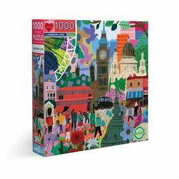 eeBoo London Life 1000 Piece Puzzle