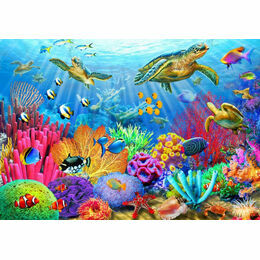 Turtle Coral Reef 1000 Piece Puzzle