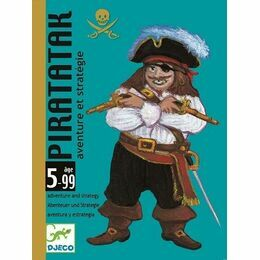 Djeco Card Game - Piratatak