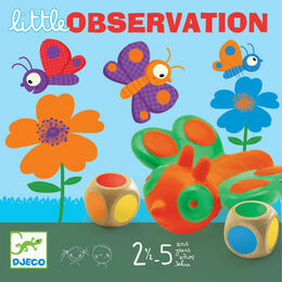 Djeco Little Observation Butterfly Board Game