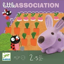 Djeco Little Association Animal Garden Board Game