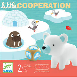 Djeco Arctic Animal Little Cooperation Board Game
