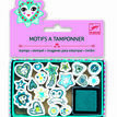 Djeco Mini Stamps - Hearts and Stars additional 1