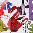 Djeco 3D Models Paper to Make - Dragons & Chimeras additional 1