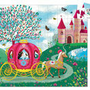 Djeco Princess Elsie\'s Carriage Silhouette Puzzle - 54 Pieces additional 2