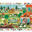 Djeco 35 Piece The Farm Observation Jigsaw Puzzle additional 1