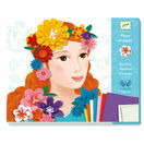 Djeco Young Girls In Flowers Paper Workshops additional 1