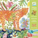 Djeco Glitter Art Workshop - Tropical additional 1