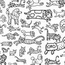 Eggnogg Colour In Pillowcase - Cats & Dogs additional 2