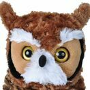 Great Horned Owl Cuddlekins Soft Toy (30cm) additional 2