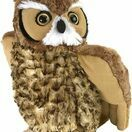 Great Horned Owl Cuddlekins Soft Toy (30cm) additional 1