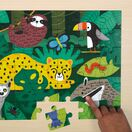 Mudpuppy Fuzzy Puzzle - Rainforest additional 3