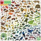 eeBoo A Rainbow World Animal 1000 Piece Puzzle additional 1
