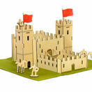 Apples to Pears Wooden Castle In a Tin Play Set additional 1