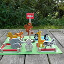 Apples to Pears Zoo in a Tin Play Set additional 6