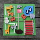 Apples to Pears Zoo in a Tin Play Set additional 5