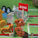 Apples to Pears Zoo in a Tin Play Set additional 7