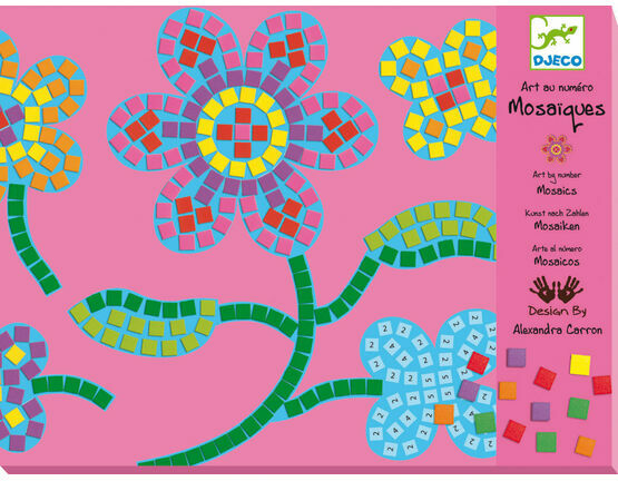 Djeco Mosaic Workshop - Flowers