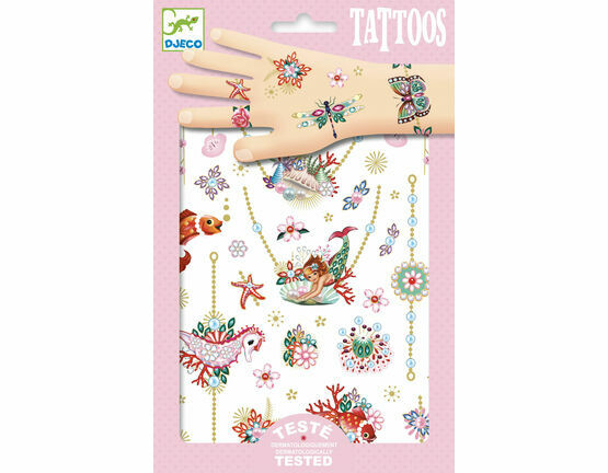 Djeco Temporary Tattoos - Fiona's Jewels