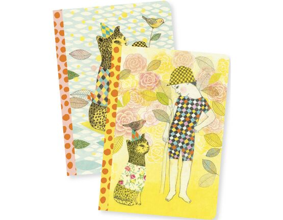 Djeco Notebooks - Elodie (Set of 2)