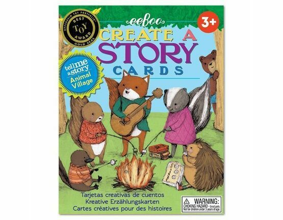 eeBoo Animal Village Create A Story Card Game