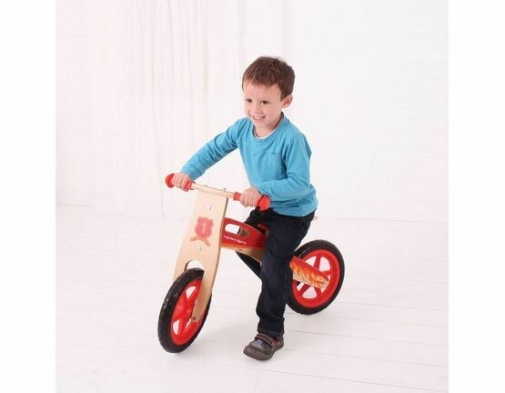 Bigjigs Toys My First Balance Bike - Red