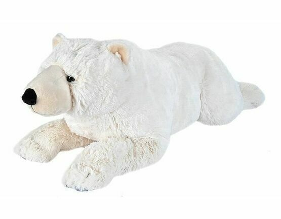 Jumbo Polar Bear Cuddlekins Soft Toy (76cm)