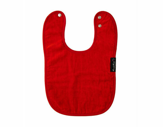 Mum2Mum Wonder Bib - Red