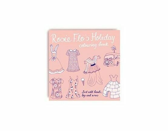 Rosie Flo Colouring Book - Holiday