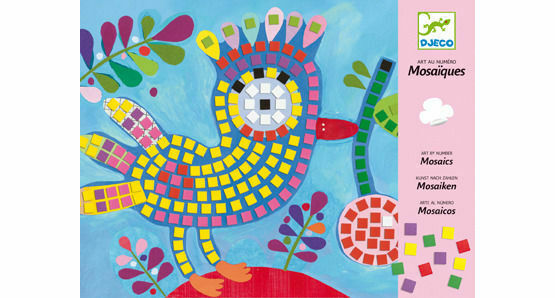 Djeco Mosaic Workshop - Bird & Ladybird